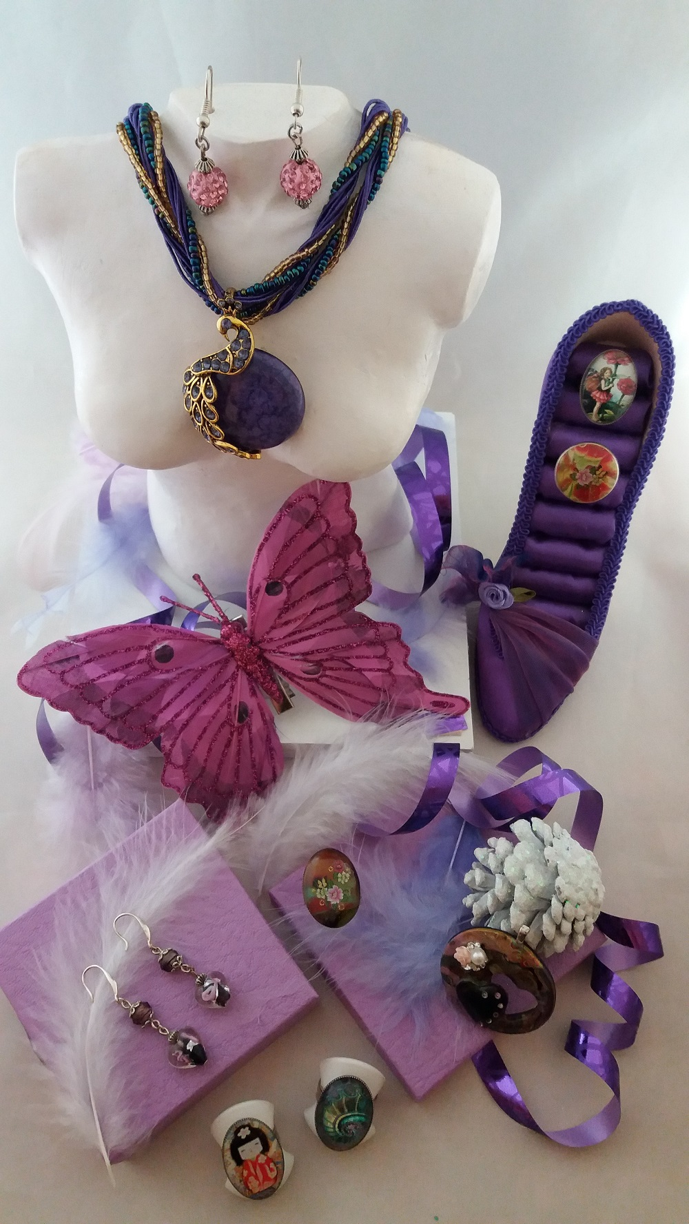 bijoux et créations faits mains