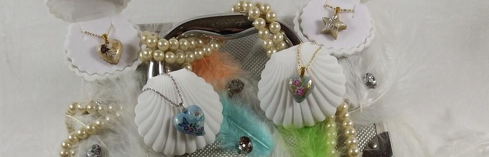 Mini coeur et étoile argent et plaqué or 18 carat